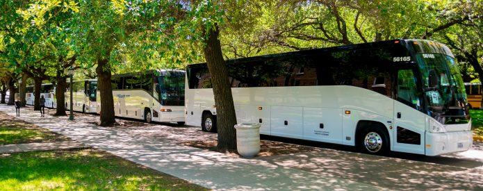 charter bus dc